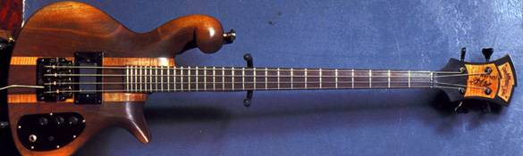 Les Claypool's 1980 Walnut 4-string